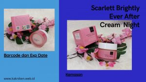 Scarlet Brighty Ever After Cream Night